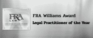 FRA william award new