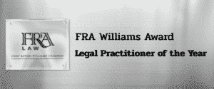FRA william award new